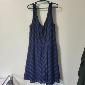 Navy Blue Lacy Rue21 Dress